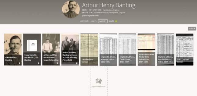 New Ancestry Website