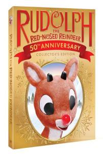 DreamWorks Animation Rudolph 50th Anniversary DVD and Blu-ray