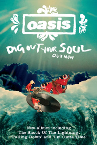 Oasis Dig Out Your Soul  INTRO UK  Design  Direction