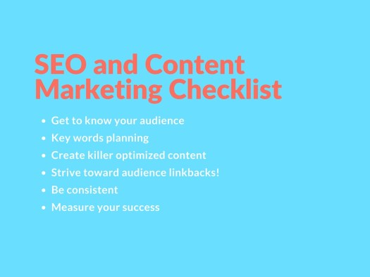 items to integrate into content marketing strategies