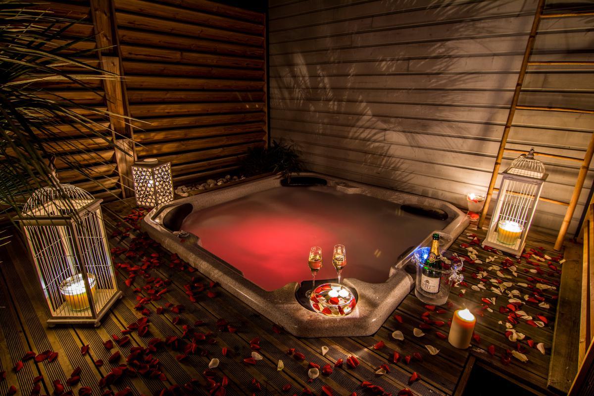 Sejour Romantique Jacuzzi Chambre