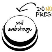 Como parar o comportamento de autossabotagem?