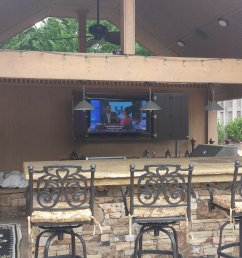 consultation making the right choice easy do you want your new tv mounted over the fireplace or a weather proof flat panel connected in your outdoor [ 3264 x 1836 Pixel ]
