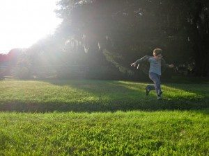My son moving his body because it feels GOOD, not as a part of an exercise plan!!!