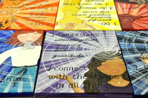 The end result is a collection of artwork designed to increase the healing energy flow through any chakra you choose!