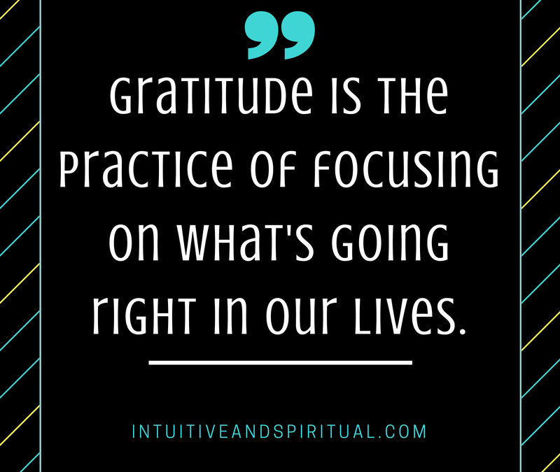Gratitude on the Bad Days