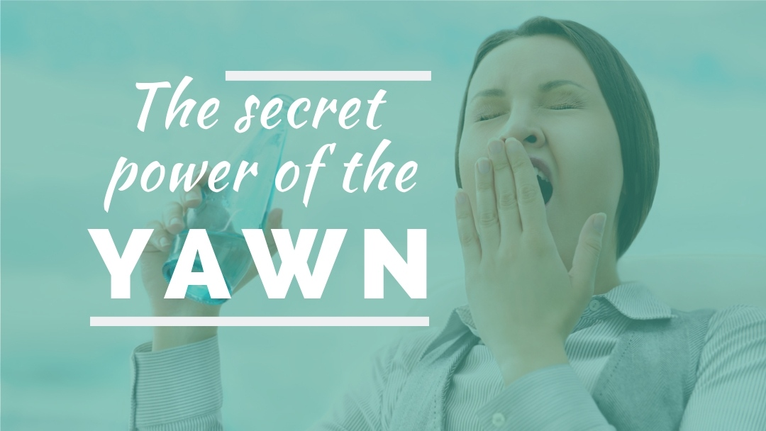 The secret power of the yawn