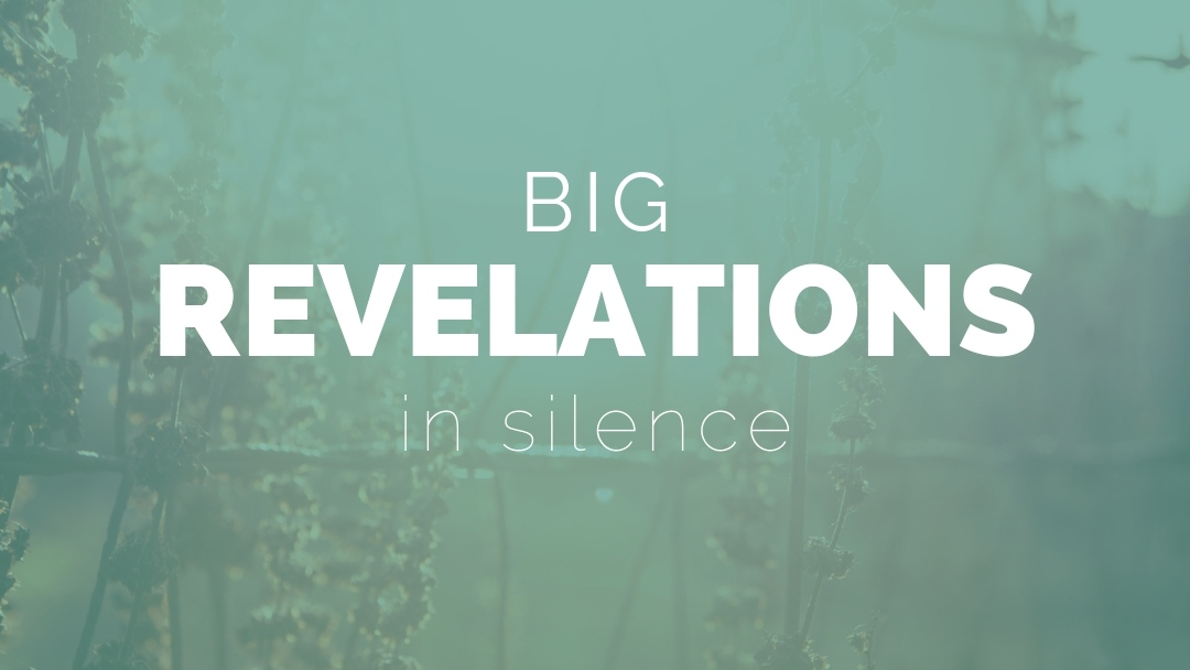 Big Revelations In Silence
