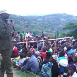Umuyoboz w'ingabo muntara y'amajyepfo Kagame Alexis