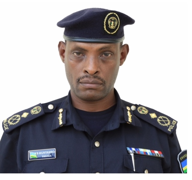 CP Munyambo Bruce umuyobozi wa Polisi ya Loni muri Sudan.