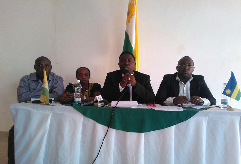 Ubuyobozi bw'Ishyaka Green Party riharanira Demokarasi no Kurengera Ibidukikije mu Rwanda