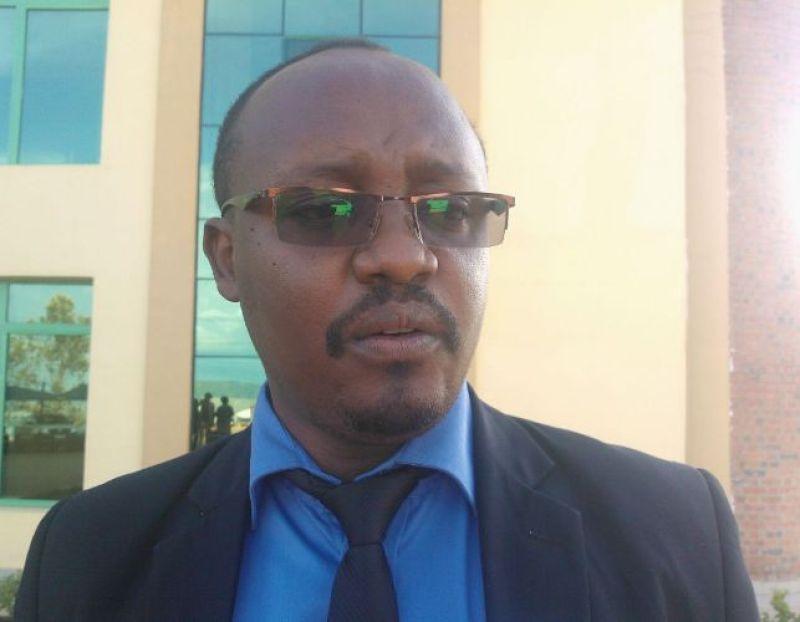 Aimable Udahemuka, umuyobozi w'akarere ka Kamonyi.