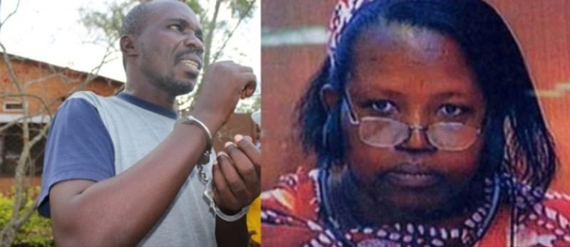 Minani Hussein n'uwahoze ari Nyirabuja- Nyiramasuhuko Pauline.