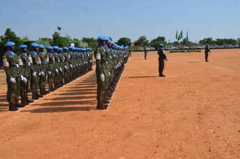 Abasirikare b'u Rwanda Batayo 45 Darfuru