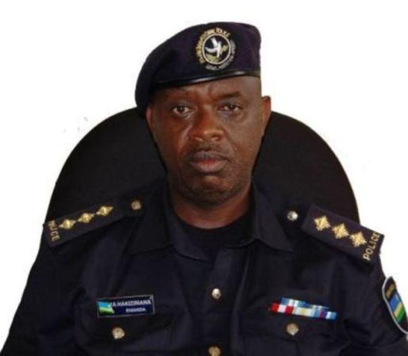 CIP Andree Hakizimana, umuvugizi wa polisi y'u Rwanda mu ntara y'amajyepfo.