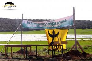 إيغزر ن ثاقا حملة التشجير فلنجعل آوراس أخضر من جديد