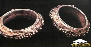 Bracelet ornés de boules (Pays Touareg)
