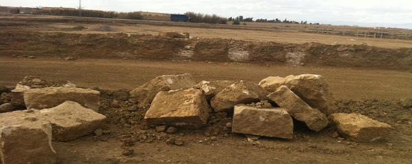 Les nouvelles constructions poussent en défigurant le site archéologique