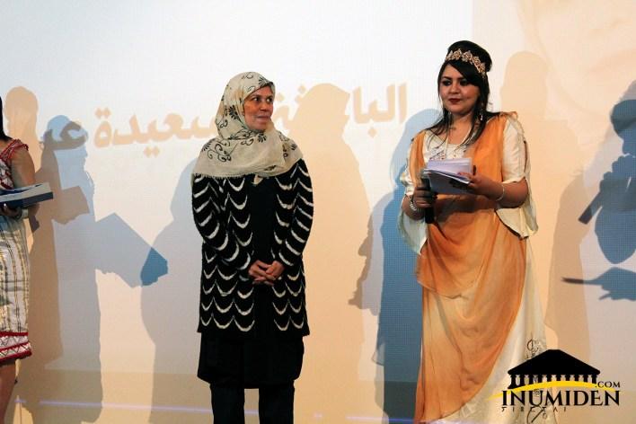 Saida Abouba honoré par les organisateurs