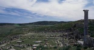 Vue du Forum de Thubursicum Numidarum. Crédits : De Agostini