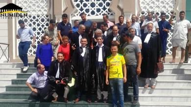Photo de Drapeau Amazigh : Fetissi Nadir acquitté et remis en liberté à Annaba