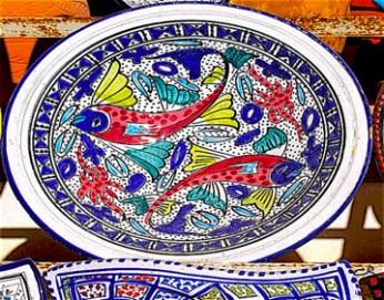 Céramique de Guellala (Djerba) © C. Sorand