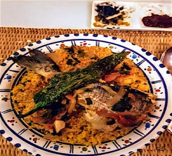 Houmt Souk : couscous au poisson © C. Sorand