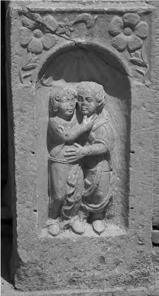Fig. 4 : Stèle de Timgad (cl. de l'auteur).