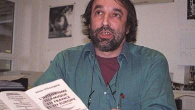 Cette photo date du 26 mars 2001 membre d'un collectif de soutien aux démocrates algériens Jean-Jacques Boy prof à l'ENSMM de Besançon organise un colloque sur l'intégrisme islamique en France et en Europe à Paris photo d'archives Est Républicain -161021