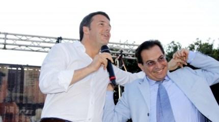 La 'Sinistra' dei peracottari: Renzi vuole il Ponte di Berlusconi, Crocetta i termovalorizzatori di Cuffaro