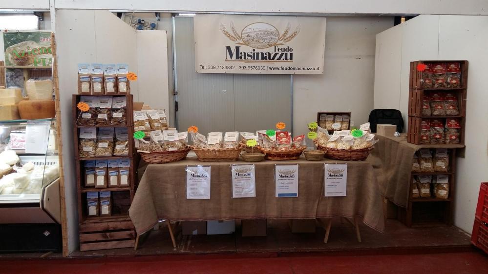 Iniziamo oggi un 'viaggio' nel mondo della pasta artigianale siciliana: l'azienda Feudo Masinazzu di Valledolmo