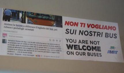 Perché non mettere sugli autobus la faccia di chi ha derubato la Sicilia?