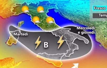 Allerta meteo in Sicilia, a Palermo pioggia incessante. Si temono allagamenti
