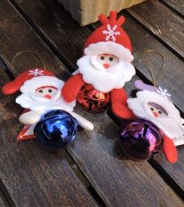 Foto - Cara Papa Noel con Cascabel - Todos los colores