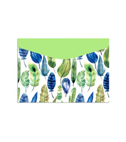 Foto 4 - sobre de carton - verde