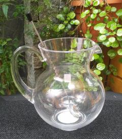 Foto 1 - Jarra acrilica 3 litros con cuchara de acero inox