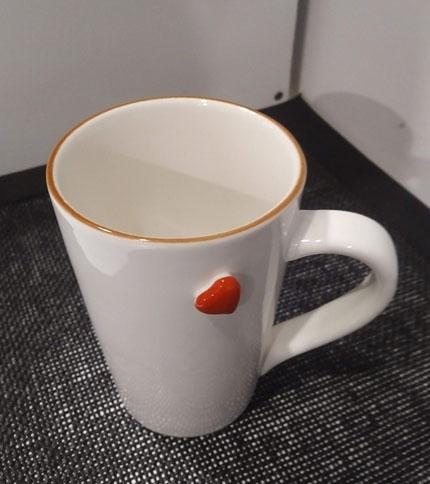 Foto 2 - Taza ceramica corazon - Superior