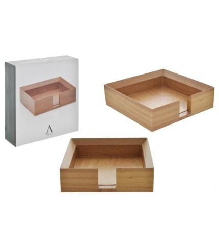 Foto 2. Portanotas madera