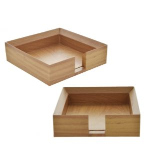Foto 1. Portanotas madera