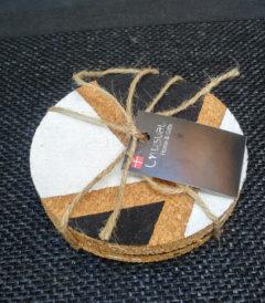 Foto 1 - posavasos corcho - Diseño figuras - Cerrado