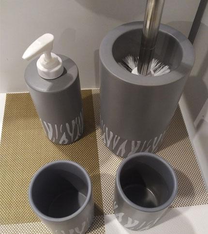 Foto 3 - set 4 piezas para baño