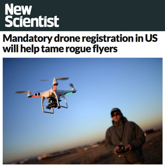 New Scientist, US Drones