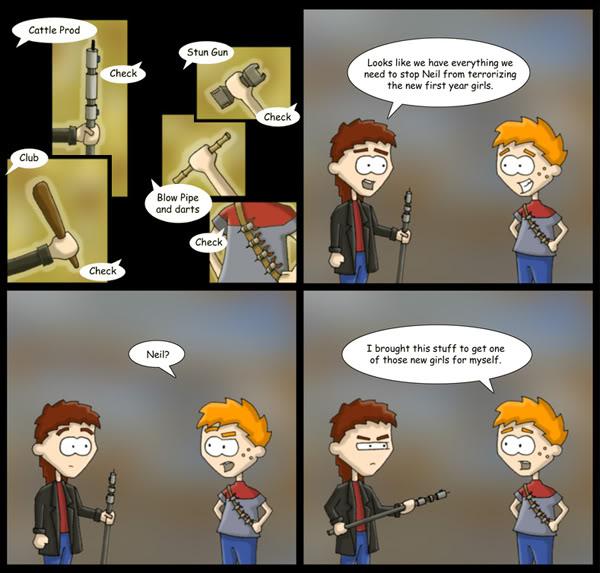 Cartoon Origins Comic 2