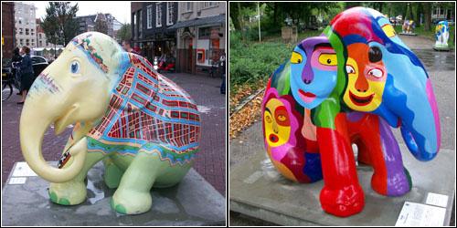 Elephants in Amsterdam 1