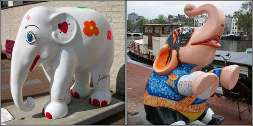 Elephants in Amsterdam 5