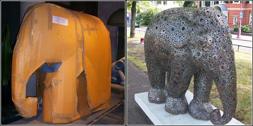Elephants in Amsterdam 8