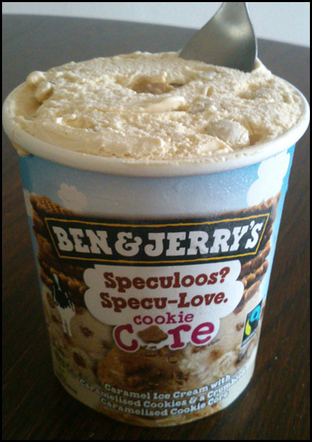 Ben & Jerry's Speculoos Ice Cream