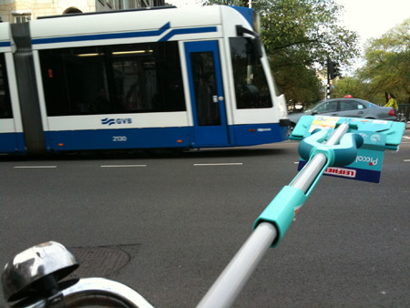 Mop Attack Tram