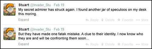 Speculoos Jar Tweet