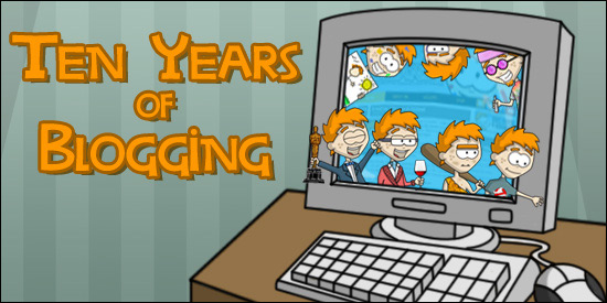Ten Years of Blogging